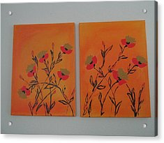 Flanders Poppies Acrylic Print