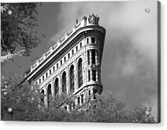 New York City - Flat Iron Prow Acrylic Print