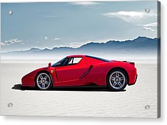 Flat Out  Acrylic Print by Douglas Pittman