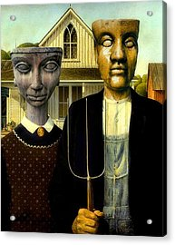 Flat Top Gothic Acrylic Print by James Stough
