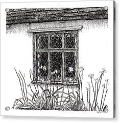 Flatford Mill Acrylic Print