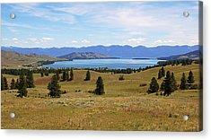 Flathead Lake View Acrylic Print