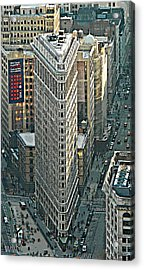 Flatiron Building Nyc 1 Acrylic Print