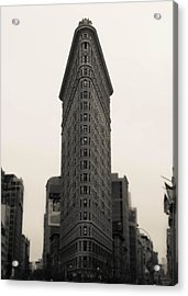 Flatiron Building - Nyc Acrylic Print by Nicklas Gustafsson