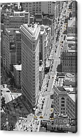 Flatiron Building Acrylic Print by Randi Grace Nilsberg