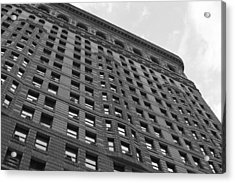 Acrylic Print featuring the photograph Flatiron Building by Steven Macanka