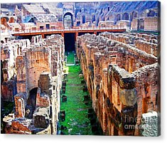 Flavian Amphitheatre Acrylic Print