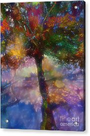 Flavours Of Autumn Acrylic Print by Klara Acel