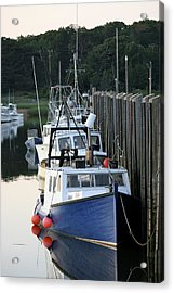 Fleet At Rest Acrylic Print