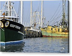 Fleet At Rest Acrylic Print by John Collins