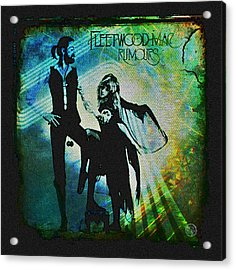 Fleetwood Mac - Cover Art Design Acrylic Print