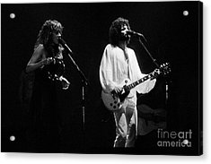 Fleetwood Mac In Amsterdam 1977 Acrylic Print