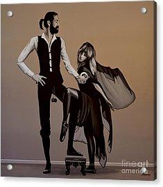 Fleetwood Mac Rumours Acrylic Print