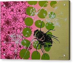 Flies Acrylic Print by Bitten Kari