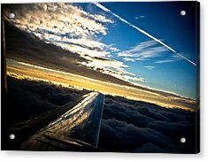 Flight 777 Acrylic Print by Joel Loftus