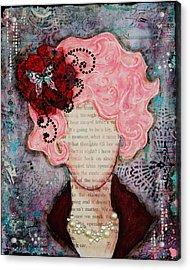 Flight Of Fancy By Janelle Nichol Acrylic Print by Janelle Nichol