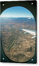 Flight Over Oaxaca Acrylic Print by Jim West