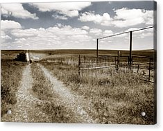 Flint Hills Country Acrylic Print by Thomas Bomstad