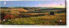 Flint Hills Shadow Dance Acrylic Print by Rod Seel