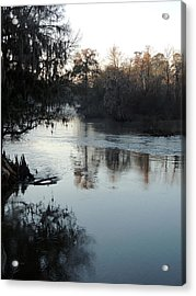 Acrylic Print featuring the photograph Flint River 20 by Kim Pate