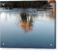 Acrylic Print featuring the photograph Flint River 21 by Kim Pate