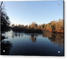 Acrylic Print featuring the photograph Flint River 26 by Kim Pate
