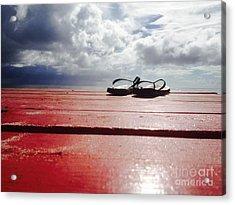 Flip Flop Cloud Acrylic Print