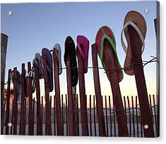 Flip Flop Lost And Found Acrylic Print