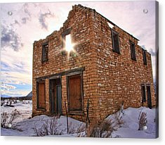 Flip This House Acrylic Print