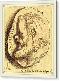Félix Bracquemond French, 1833-1914, Charles Meryon Acrylic Print