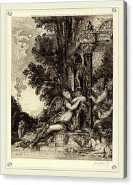 Félix Bracquemond, La Dionade, French, 1833-1914 Acrylic Print