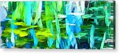 Float 4 Horizontal Acrylic Print by Angelina Vick
