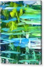 Float 4 Vertical Acrylic Print