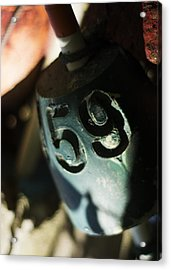 Acrylic Print featuring the photograph Float Number 59 by Rebecca Sherman