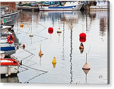 Float The Boats Acrylic Print