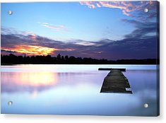 Floater Acrylic Print by Andrea Galiffi