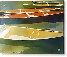 Floaters Acrylic Print by Kris Parins