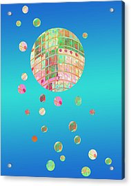 Floating  Acrylic Print by Ann Powell
