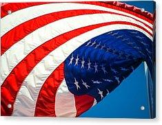 Floating Flag  Acrylic Print