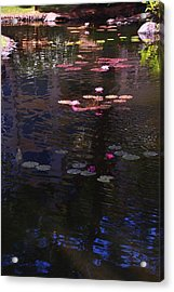 Floating Flowers  Acrylic Print