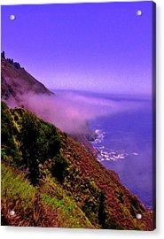 Floating Fog Acrylic Print by Sharon Costa
