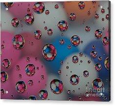 Floating Gum Balls Acrylic Print by Paul Ward