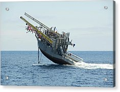 Floating Instrument Platform (flip) Acrylic Print by Us Air Force/john F. Williams