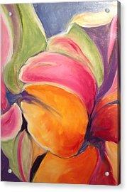 Floating Petals Acrylic Print