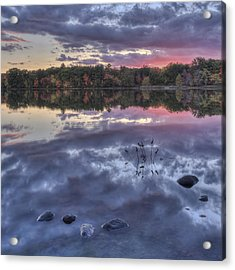 Floating Rocks Acrylic Print