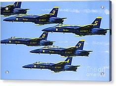 Flock Of Angels Acrylic Print