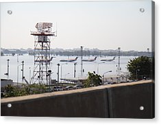 Flooding Of The Airport In Bangkok Thailand - 01131 Acrylic Print by DC Photographer