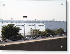Flooding Of The Airport In Bangkok Thailand - 01132 Acrylic Print by DC Photographer