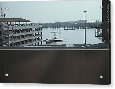 Flooding Of The Airport In Bangkok Thailand - 01133 Acrylic Print by DC Photographer
