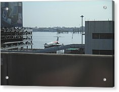 Flooding Of The Airport In Bangkok Thailand - 01134 Acrylic Print